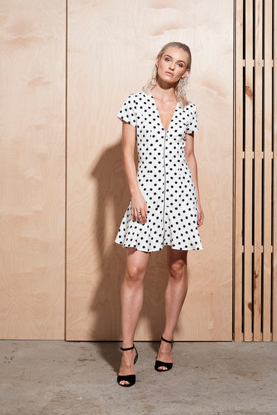 ILLUME DOT DRESS