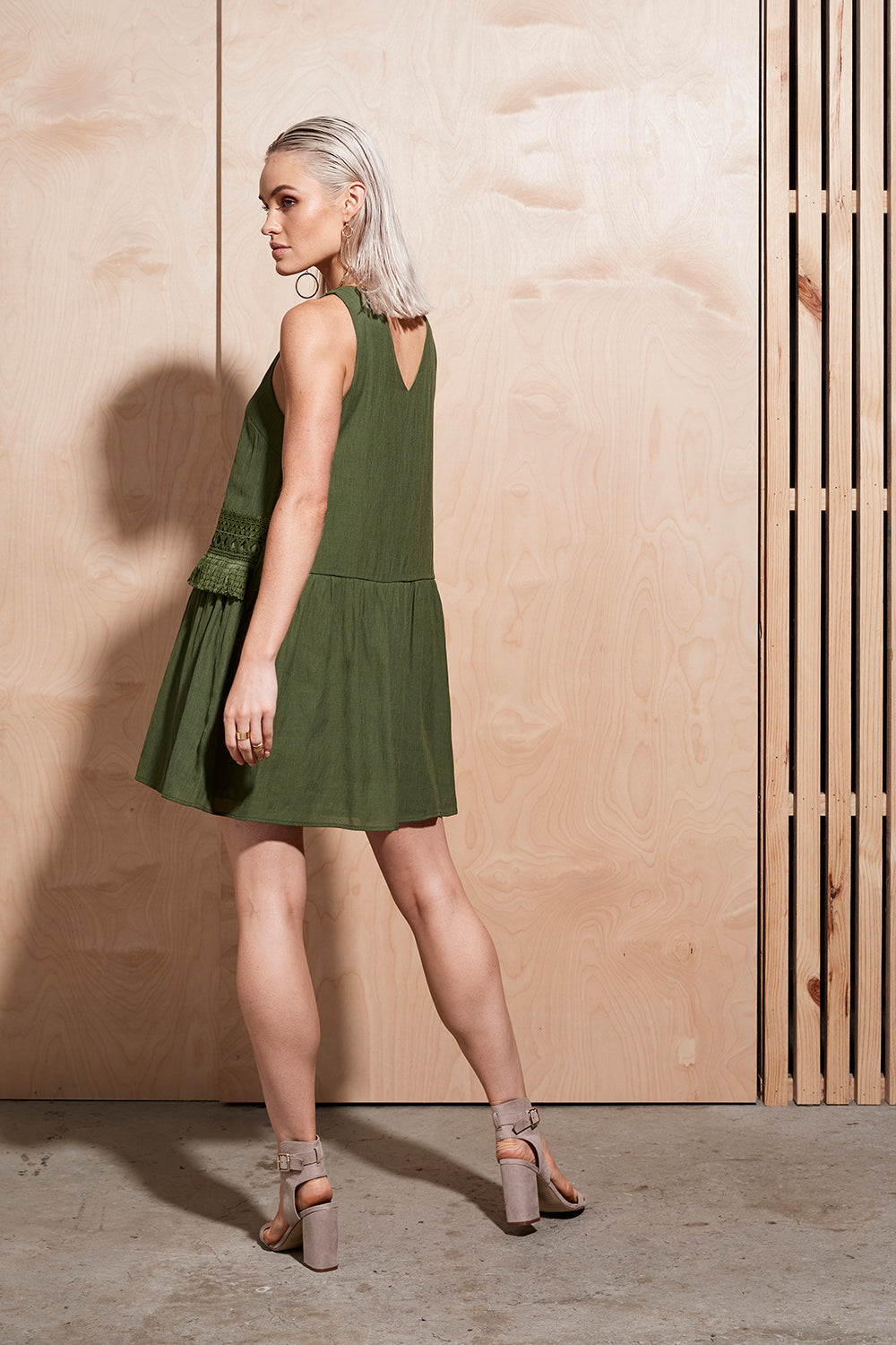 ILLUME TRIM MINI DRESS