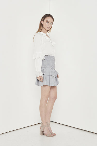 EMPIRE MIX SKIRT