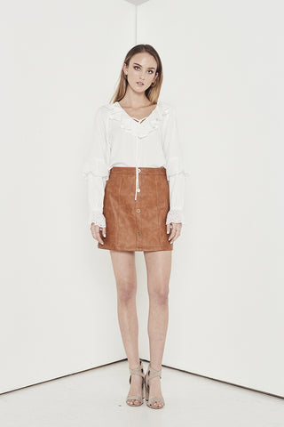 EMPIRE MINI SKIRT