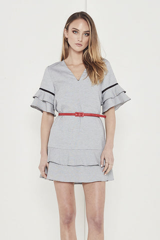 EMPIRE MIX DRESS