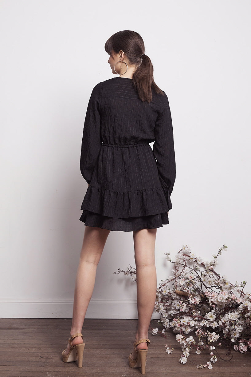 SOCIAL TIERED DRESS