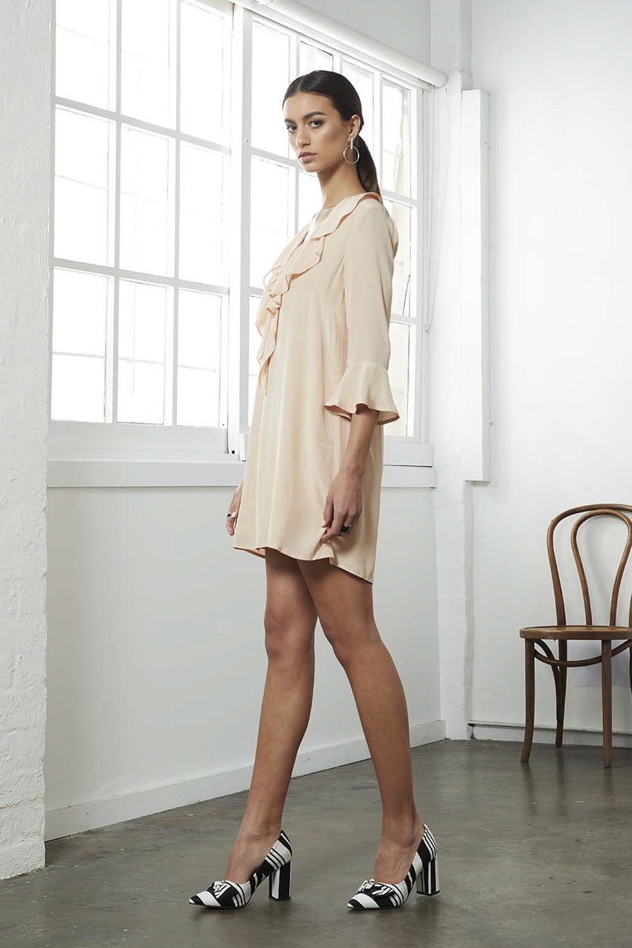 STATUS CASCADE SHIFT DRESS