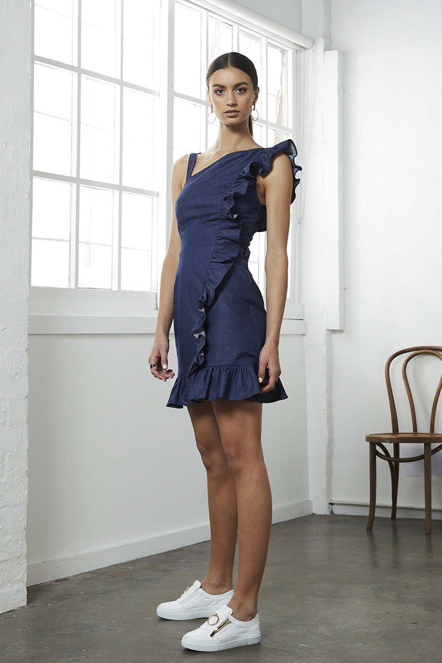 STATUS DENIM DRESS