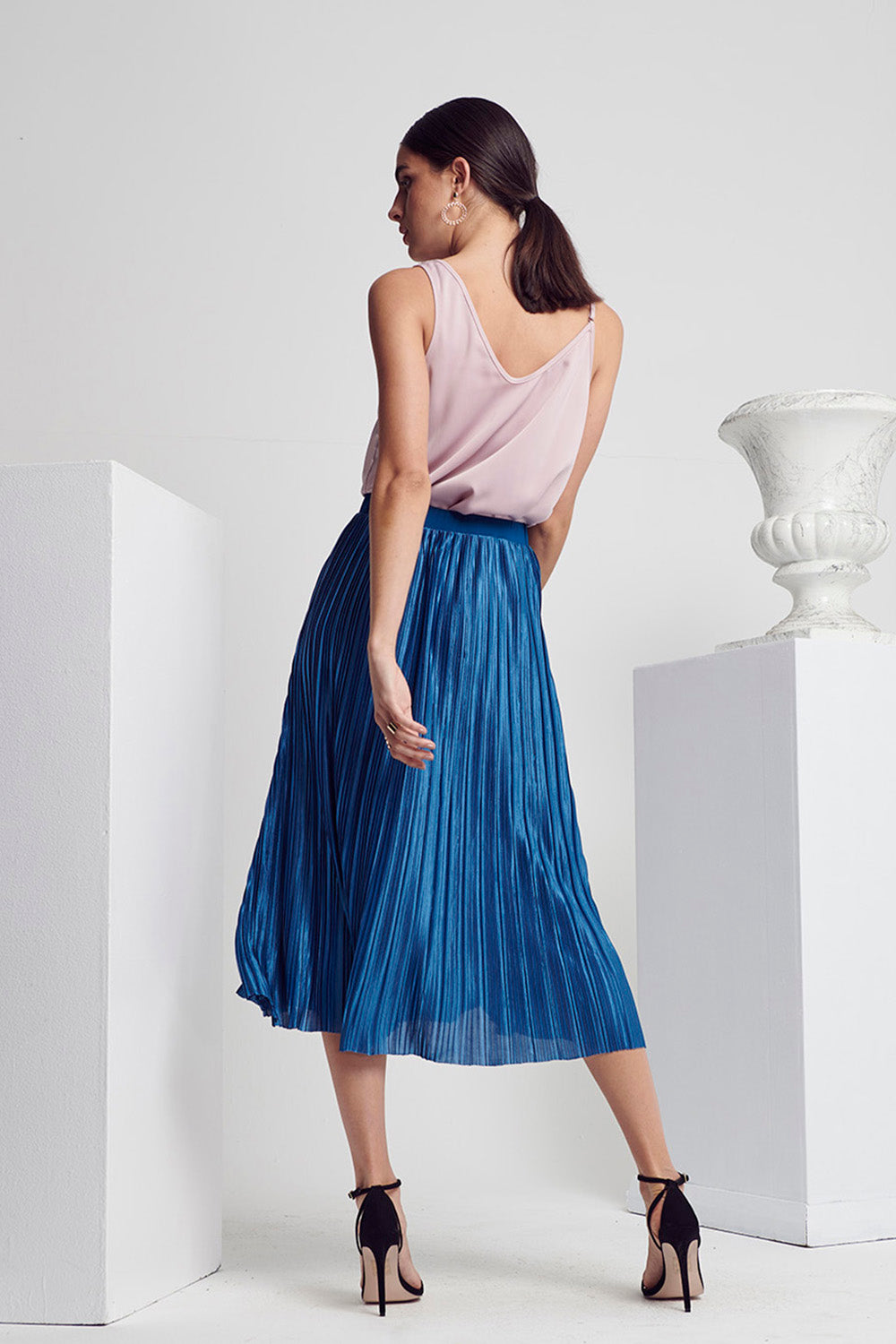 CLASS PLEAT SKIRT
