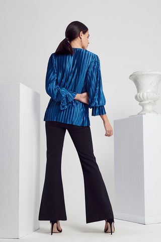 CLASS PLEAT BLOUSE