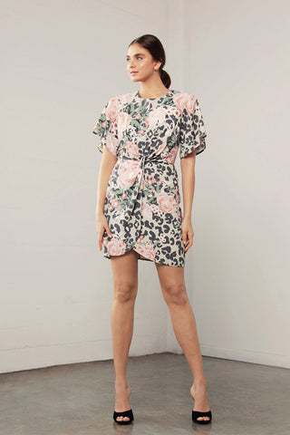 ENCHANT ANIMAL KNOT DRESS