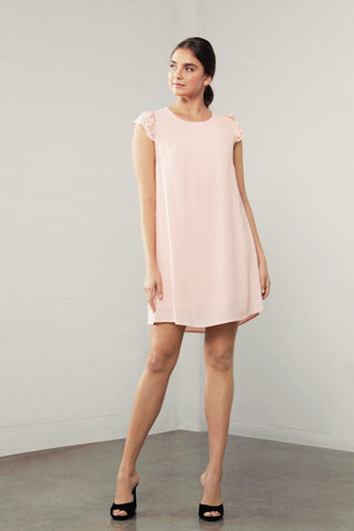ENCHANT DBL/ SLV DRESS