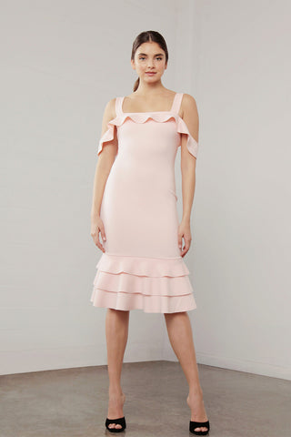 UTOPIA STRAP TIERED DRESS