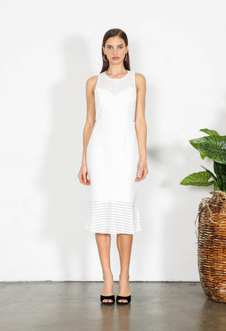 ELEMENT CUT OUT MIDI DRESS