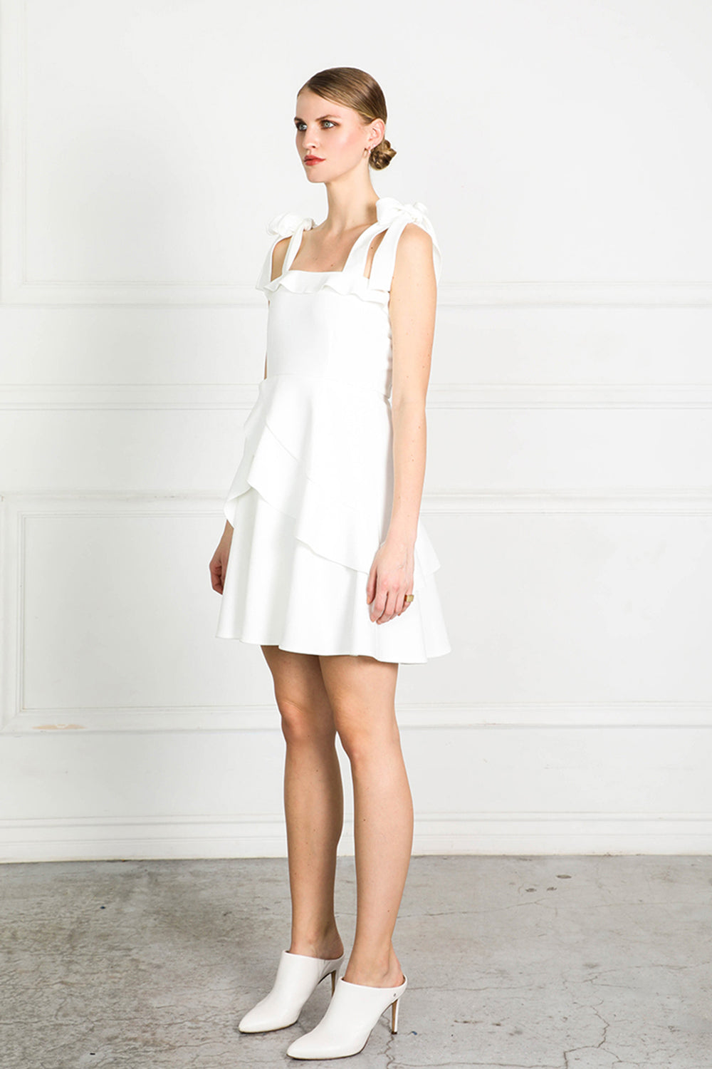 OBTAIN FRILL DRESS