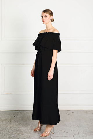 OBTAIN OFF SHOULDER DRESS