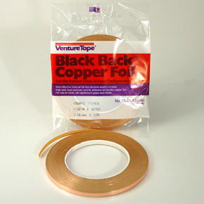 Copper Foil 10mm Black Backed