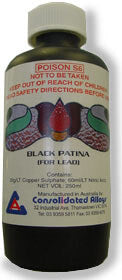 Patina Black for Lead 250ml