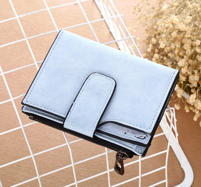 Soft clutch wallet