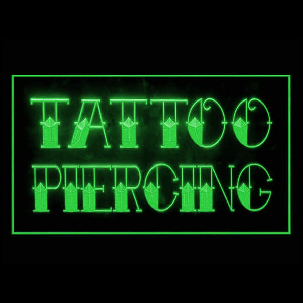Tattoo and Piercing LED Sign Parlor Light
