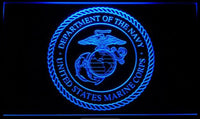 Marine Corps LED Sign Light
