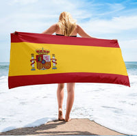 Spanish Flag Beach Towel