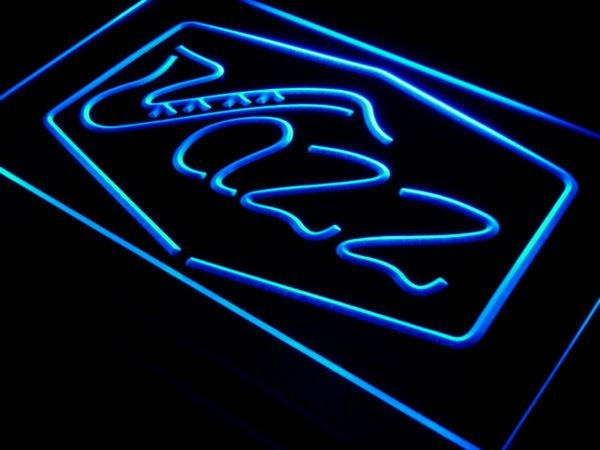 Jazz LED Sign Lounge Bar Pub Club Light Live Music