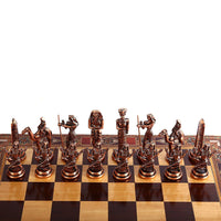 Egyptian Chess Set - Handmade Quality Workmanship