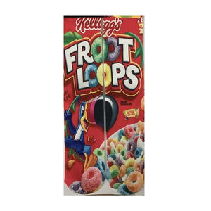 Froot Loops Graphic Socks Toucan Sam Cereal Box Novelty - 1st Door Imports