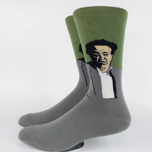 Diego Rivera Socks Crew / Dress Novelty Gift Culture Painter - 1st Door Imports