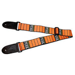 PUNK Orange Guitar Strap - 1st Door Imports