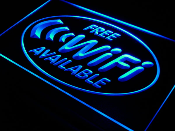 Free WiFi LED Sign Internet Access Cafe - 1st Door Imports