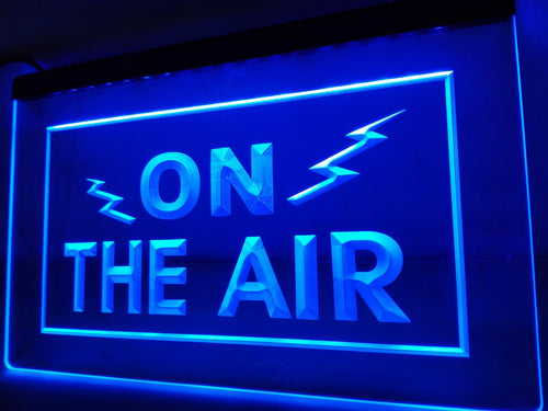 On the Air Radio Transmission LED Sign Live Show Streaming