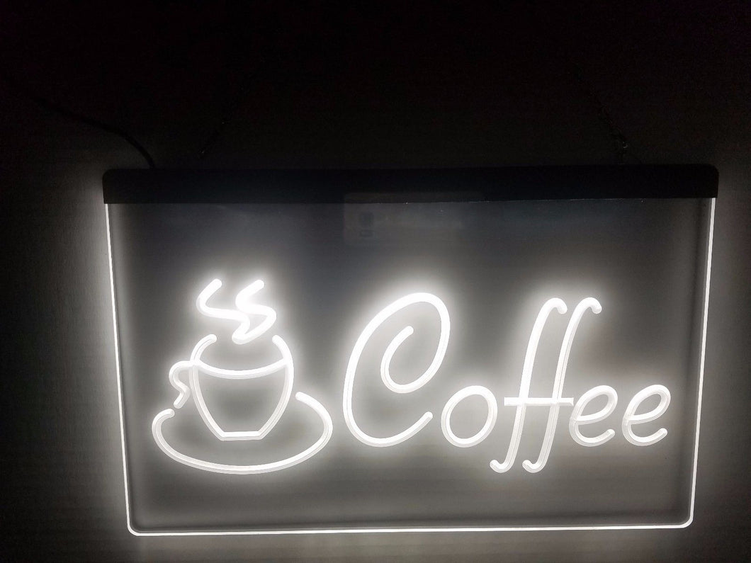 Coffee LED Sign Light for Cafe Shop - 1st Door Imports