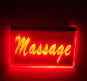 Red Massage LED Sign
