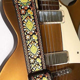 Bohemian Embroidered Guitar Strap - 1st Door Imports