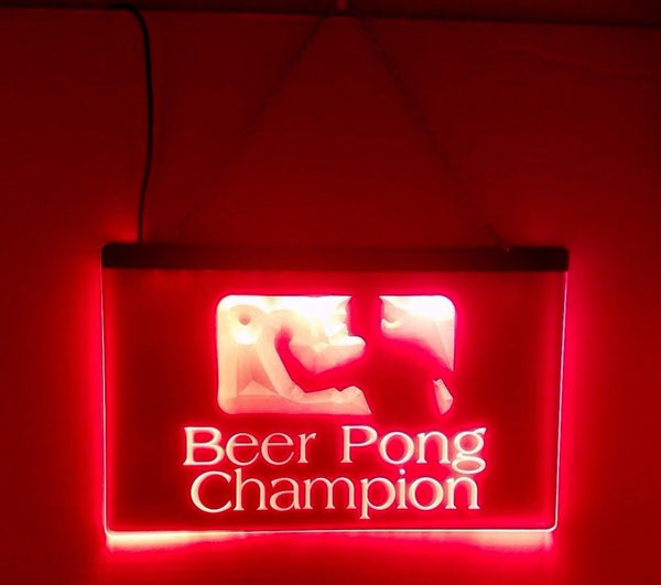 Beer Pong Champion LED Sign Pro BP - 1st Door Imports