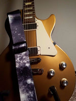 Galaxy Guitar Strap Outer Space Stars Universe Nebula Cosmos Acoustic Electric - 1st Door Imports