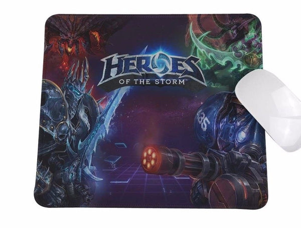 Heroes Of The Storm Mouse Pad Gaming Blizzard HotS - 1st Door Imports