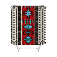 Native Print Shower Curtain