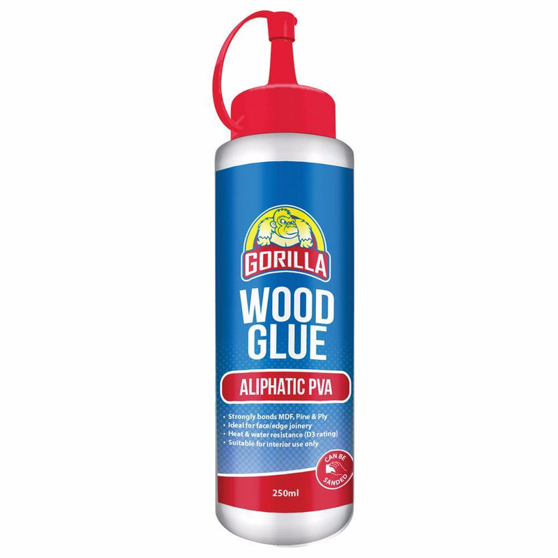 250ml Gorilla Aliphatic PVA Plus Wood Glue
