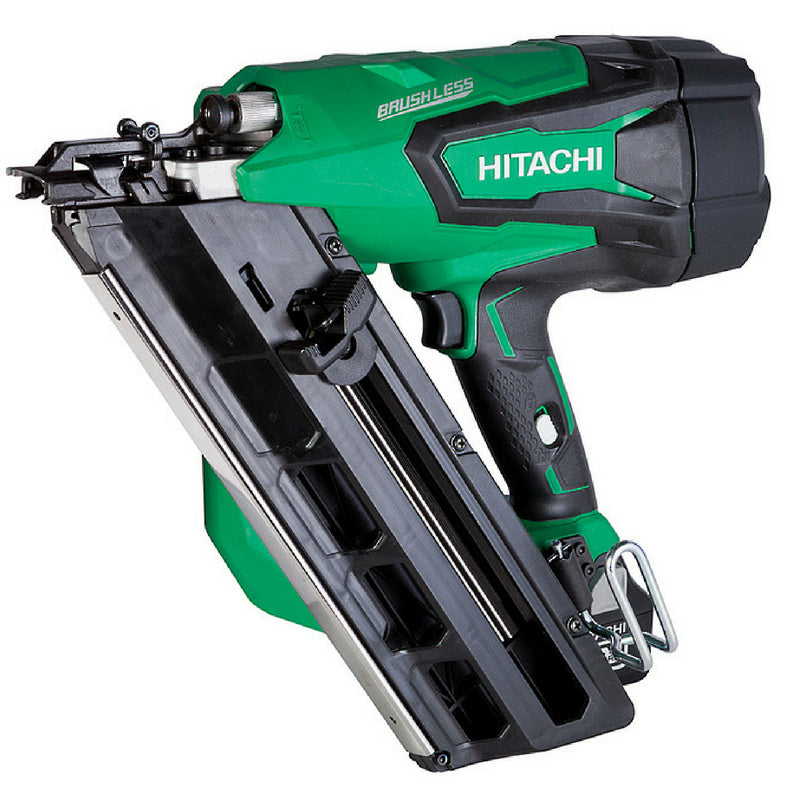 Hitachi Gasless Framing Gun 50-90mm with 2 x 3ah battery Kit