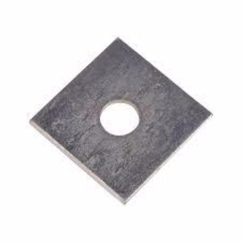Washer Square 50 X 50 X 12mm Galv
