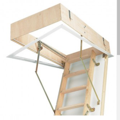 Attic Wooden Folding Ladder