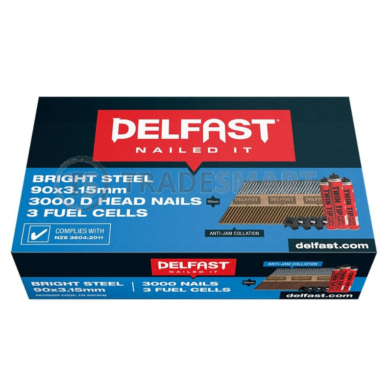 Delfast 90mm DHEAD Bright 3000 With 3 Fuel Cells
