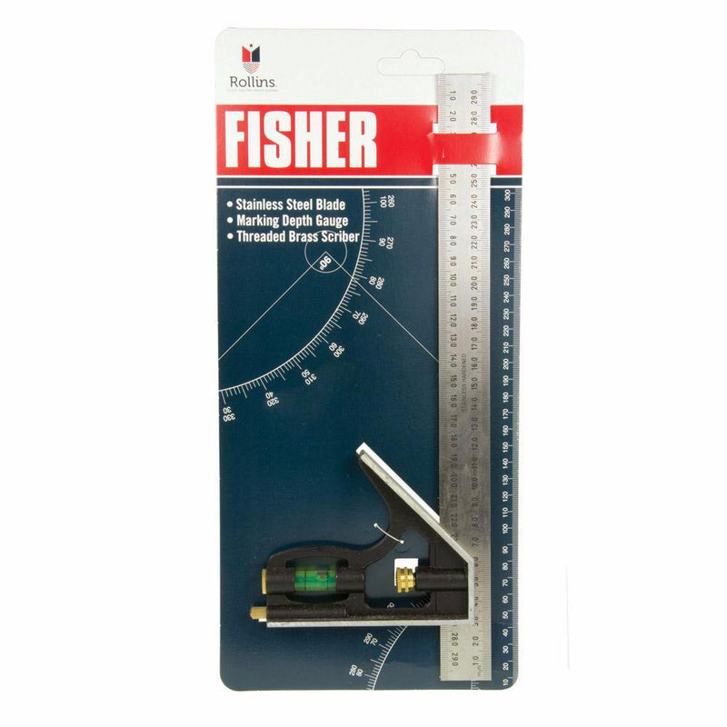 300mm Combination Square Fisher #22