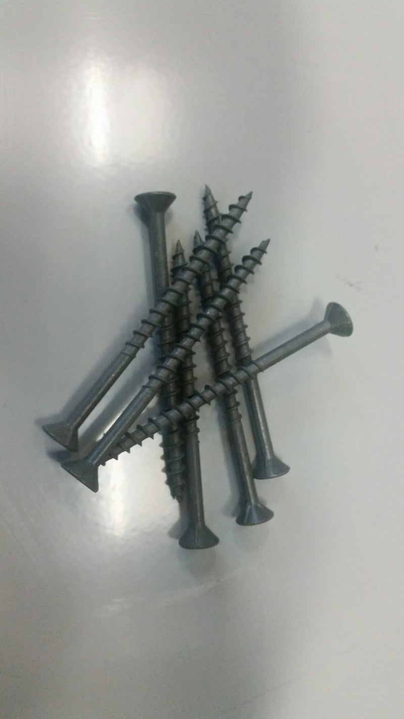 Screws Surefast CSK SQ Galv 8G x 50 100/JAR