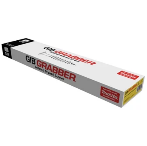 Gib Grabber Screws 6 x 25 Course Collated 1000 Box