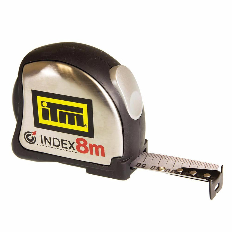 8m ITM Heavy Duty Builders Tape