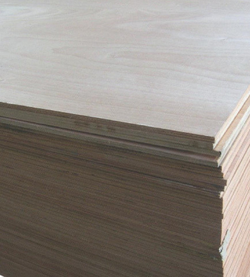 Plywood 2400 x 1200 x 9mm Okoume Veneer Poplar Core