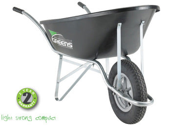 Greens ECO Wheelbarrow Black