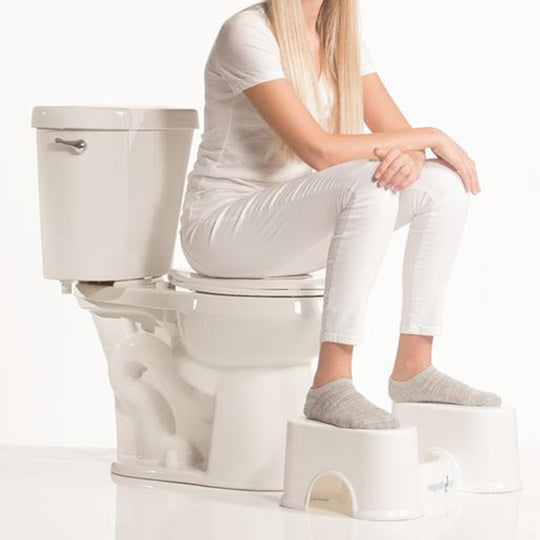 What's the best way to use the toilet — squatting or sitting?