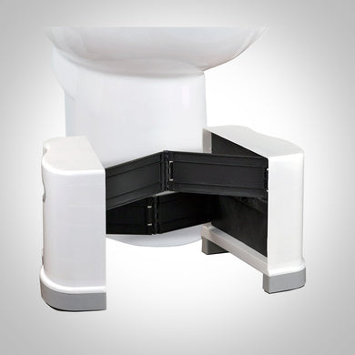 Squat N Go Extendable Toilet Stool - Fits all toilets, 7