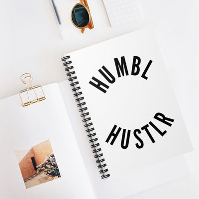 Humbl Hustlr Spiral Notebook - Ruled Line